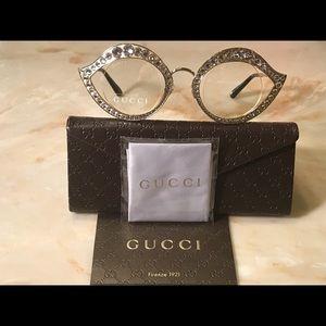 e10d9d8040e Gucci Accessories - Gucci GG4287 S Lips Cat Eye Crystals Sunglasses